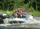 Bali white water rafting : Ayung river