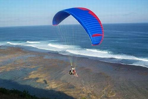 Water sport :: paragliding