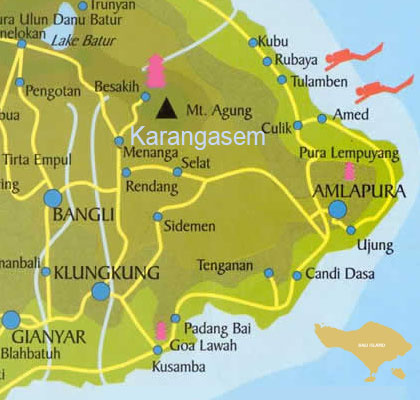 Objek Wisata Di Kabupaten Karangasem