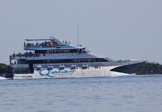 Quicksiver cruise Bali