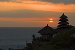 Sunset in Tanah Lot Bali